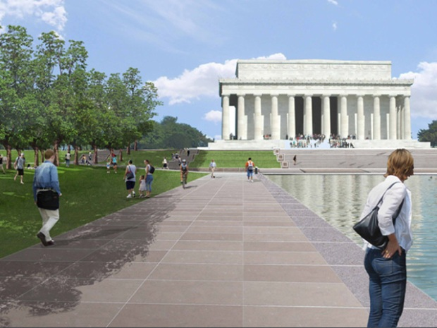 Concept Plans for Lincoln Memorial, Reflecting Pool