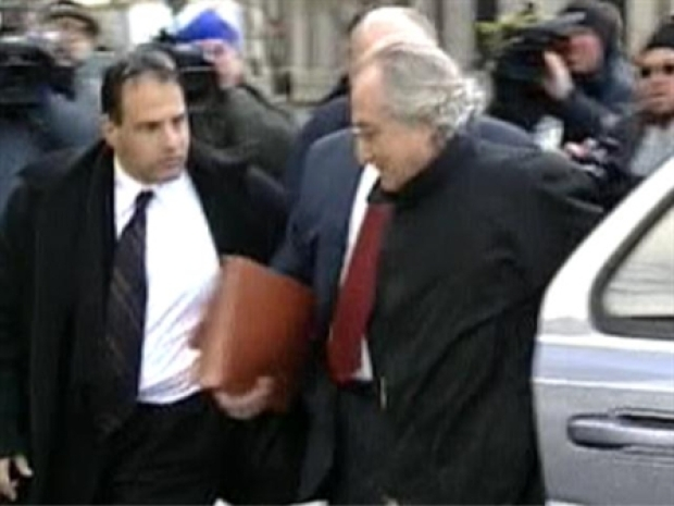 [NY] Madoff Arrives at Courthouse Thursday