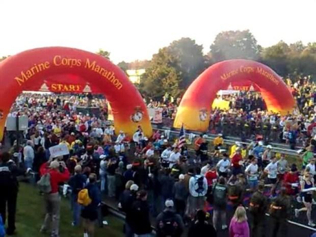 [DC] Marine Corps Marathon got underway Sunday morning