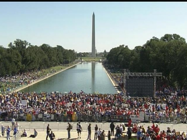 [DC] One Nation Rally at the Lincoln Memorial