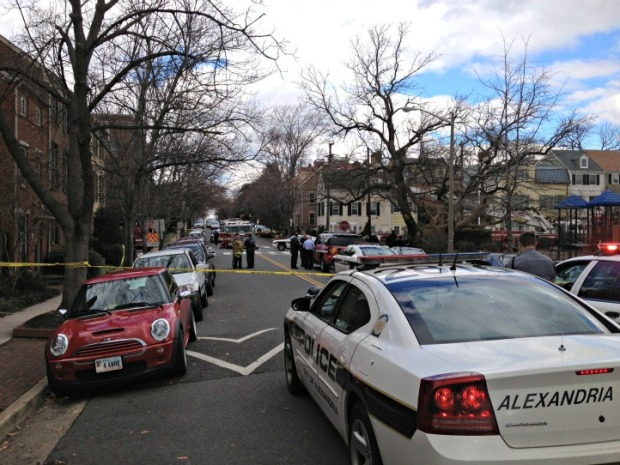 Alexandria Police Officer Shot
