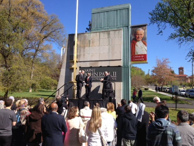 DC Shrine Renamed for New Saint