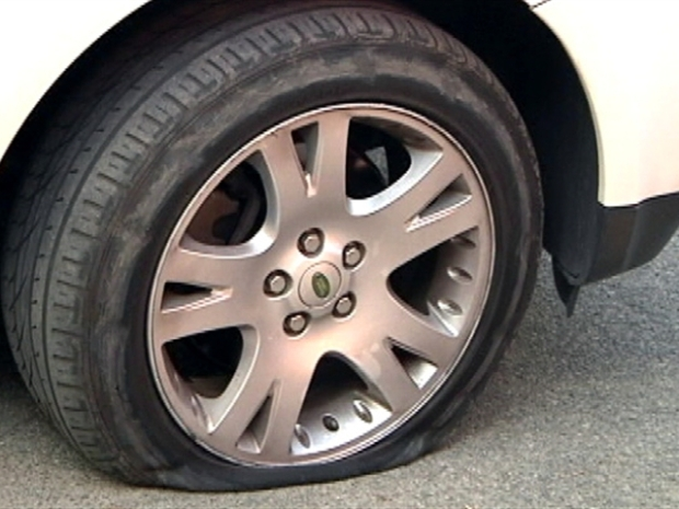 "[DC] SUV Tires Slashed in Possible ""Eco-Terrorist"" Act"