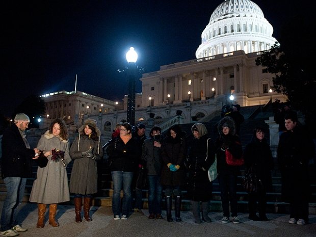 [DC] Vigil Held in D.C. for Congresswoman