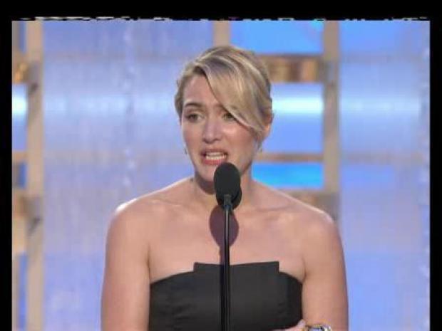 [LA] Kate Winslet's Second Acceptance Speech