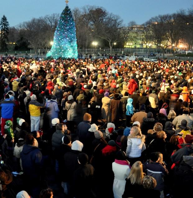 The National Tree Lighting