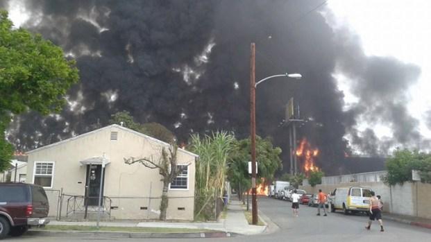 [LA] Cause of Fiery 710 Freeway Wreck Still Under Investigation
