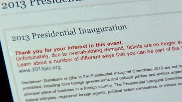 [DC] Email Mixup Over Inaugural Tickets Upsets Some