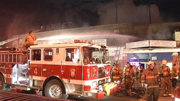 [DC] Old Union Market Warehouse Fire Overnight