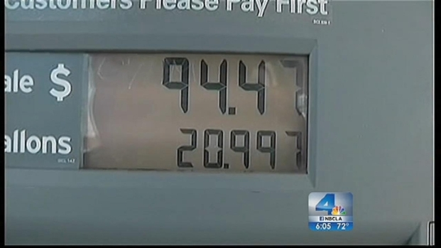 [LA] Gas Prices Reach All-Time High in California