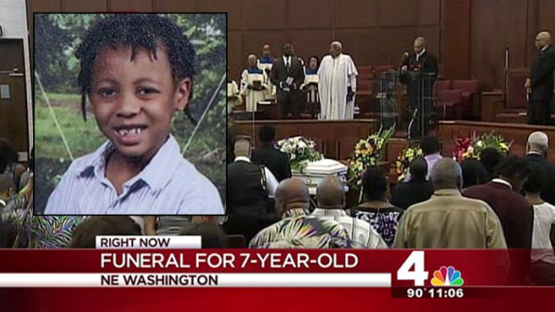 [DC] Family Holds Funeral for 7-Year-Old D.C. Boy
