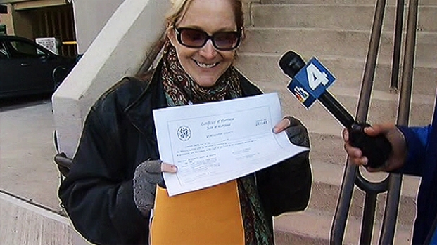 [DC] 'I Thought I Would Never Have a Marriage License'