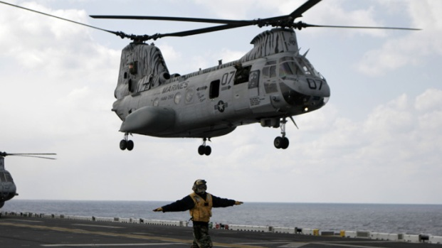 Images: Local Marines Bring Aid to Japan
