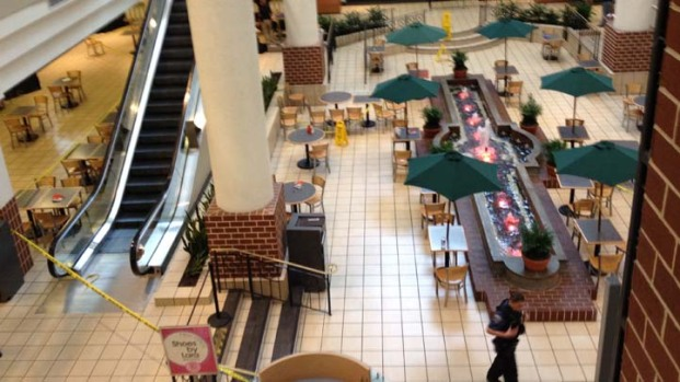 Molotov Cocktail Tossed Inside Ballston Common Mall