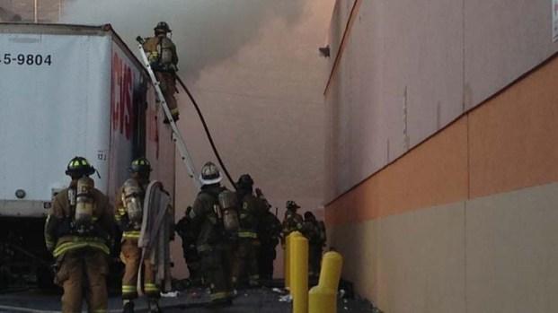 Truck Fire Disrupts Tenleytown