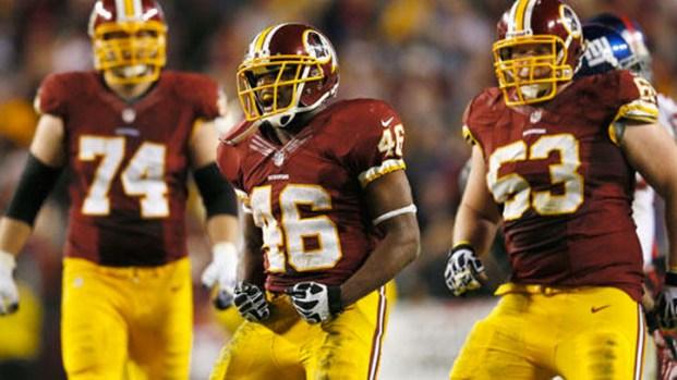 Images From Redskins v. Giants