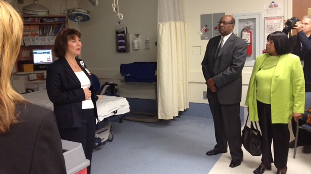 Prince George's Officials Tour Potential Hospital Partner