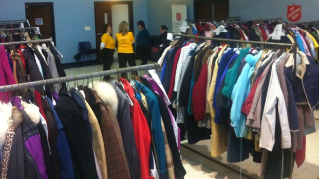 Share the Warmth Distributes Coats