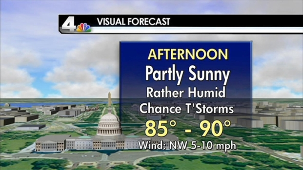 [DC] Weather Forecast 7/4/11 Midday