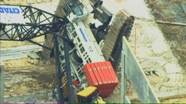 [DC] Raw Video: Crane Collapse Aftermath