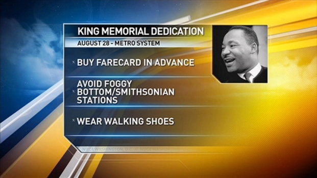 [DC] MLK Memorial Opening Plans Set