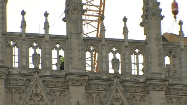 [DC] National Cathedral Repairs