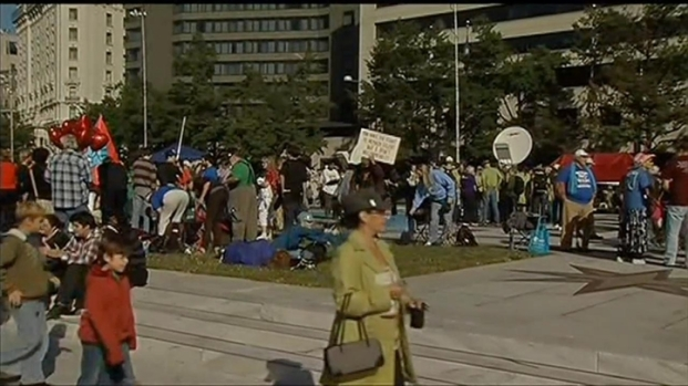 [DC] Raw Video: Occupy DC Protesters Gather