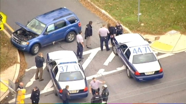 "[DC] Raw Video: Alleged ""Blonde Bandit"" Taken Into Custody"