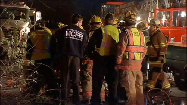 [DC] Raw Video: Ground Shots of Metrobus Crash