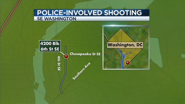 [DC] Police Involved Shooting in Southeast DC