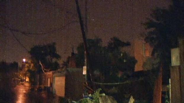 [DC] Raw Video: Storm Damage Across D.C.