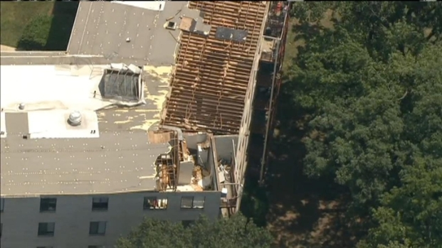 [DC] Raw Video: Roof Shorn Off Riverdale Apartment