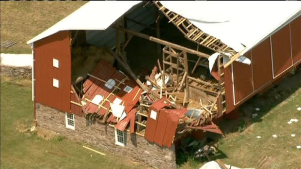 [DC] Poolesville Farm Pulverized By Storms