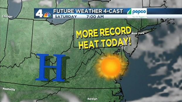 [DC] Saturday AM Forecast