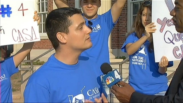 [DC] Md. Students March to Support DREAM Act