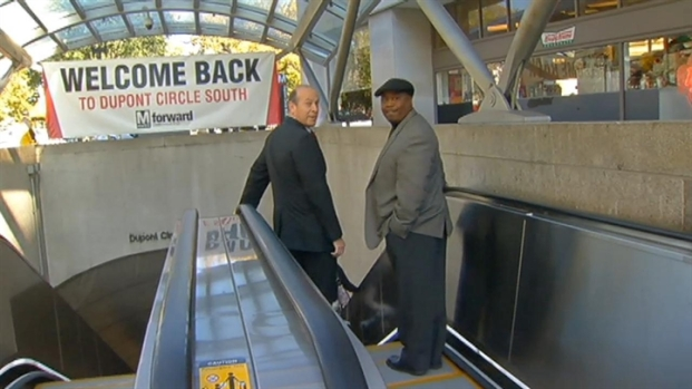 [DC] Metro Cuts Ribbon on New Dupont Circle Escalators