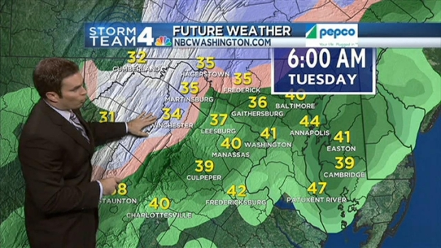 [DC] PM Weather Forecast 11/26/12