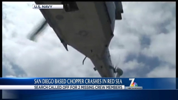 [dgo]Navy Calls Off Search for 2 Missing Aircrew