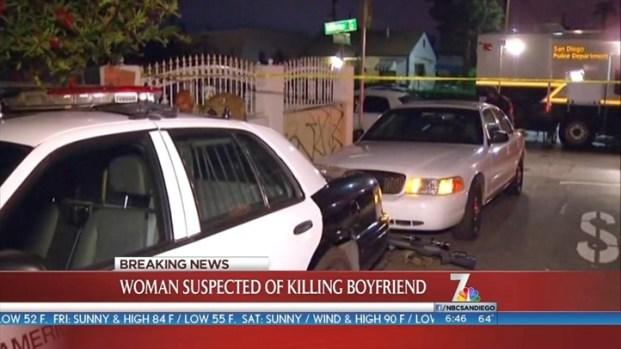 [DGO]Standoff Ends; Woman Suspected of Killing Boyfriend
