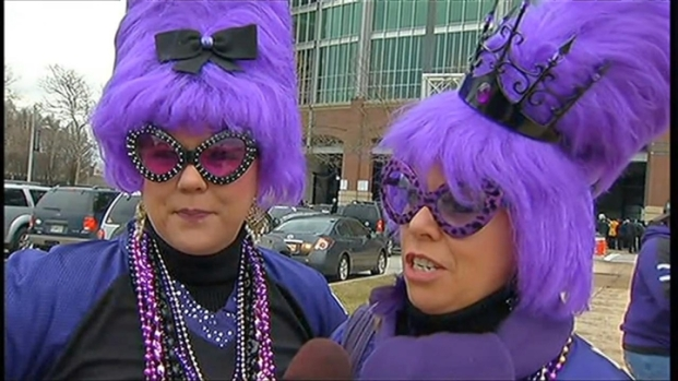 [DC] Ravens Fans Pack the Streets of Baltimore