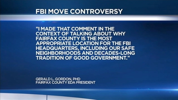 [DC] FBI Relocation Comment Controversy