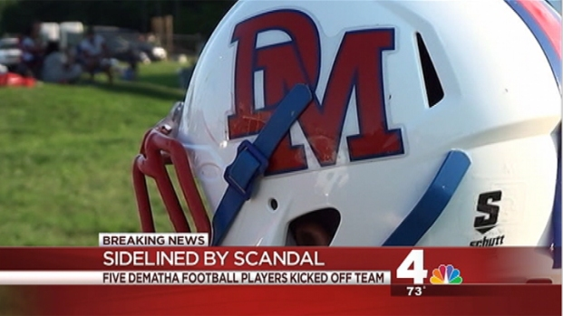 [DC] Five DeMatha Football Players Kicked Off Team After Alleged Incident With Prostitutes