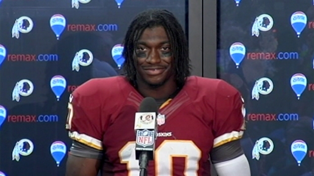 [DC] A Rookie No Longer? RGIII Talks About His First Game