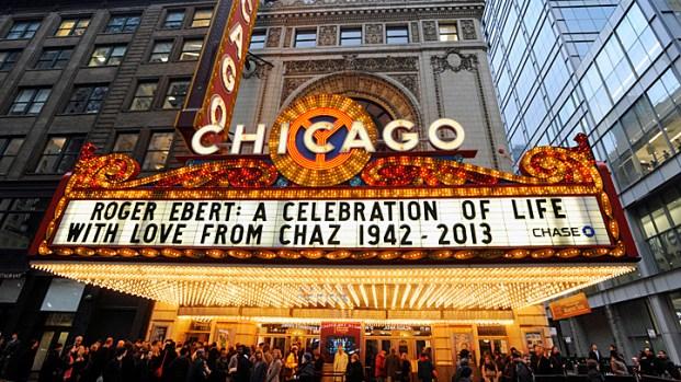 [CHI] Ebert Honored at Chicago Theatre Memorial