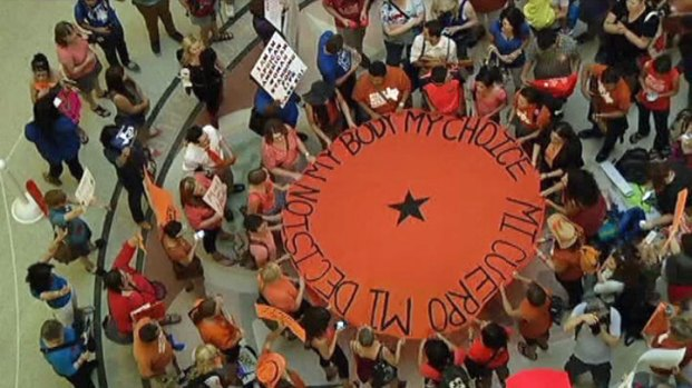 [DFW] Politically Charged Atmosphere at Capitol