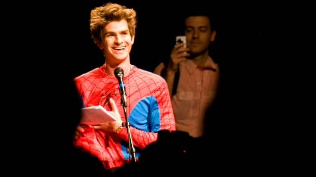 "[NBCAH] Andrew Garfield Transforms Into ""The Amazing Spider-Man"""