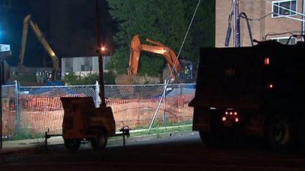 [DC] RAW Video: Arlington Sinkhole