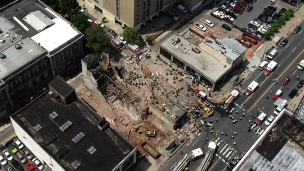 Deadly Building Collapse in Pictures