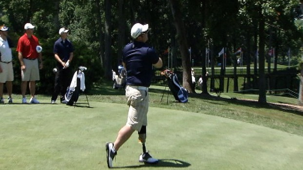 [DC] Golf Ignited Wounded Vet's Spiritual, Physical Rehabilitation