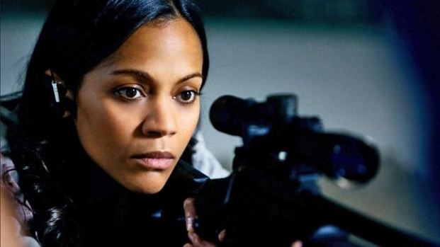 "[NATL] Zoe Saldana Talks ""Colombiana"""